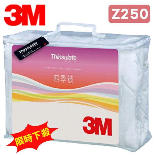 3M 新絲舒眠 Thinsulate Z250 四季被 標準雙人 可水洗 棉被 保暖 透氣 抑制塵? (尺寸:6x7尺)