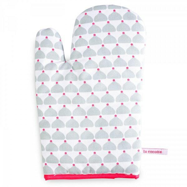 《法國 La Cocotte Paris》Grey Chic Chick Oven glove 隔熱手套 - 限時優惠好康折扣
