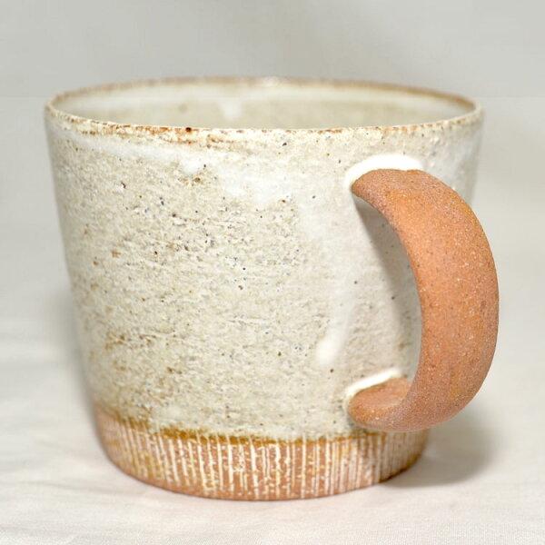 豆奶模樣手工陶瓷馬克杯日本製造
