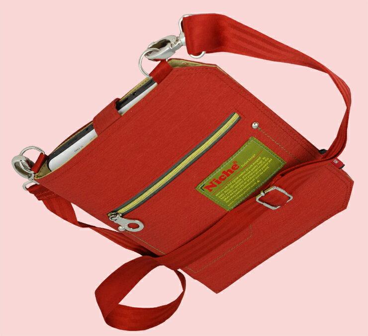 【NCL-5317】Niche 輕便外出袋 PAD專用袋 附肩帶 尺寸:28 X 22 X 0.5 公分