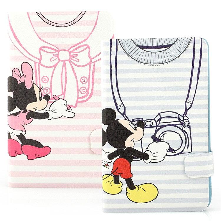 【Disney 】Samsung Galaxy Tab 4 7.0 (Tab4 7.0/T2397共用) 可愛衣服造型彩繪側掀可立式皮套