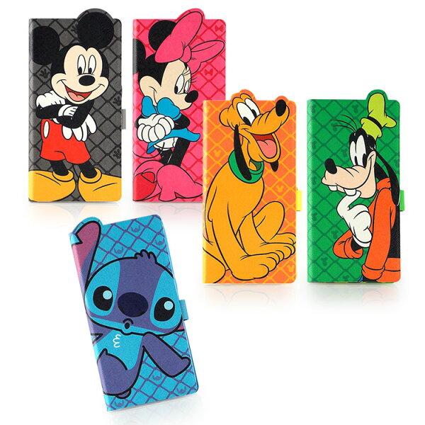 【Disney】SamsungGalaxyS6可愛人物造型可立式皮套