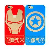 漫威英雄Marvel 周邊商品推薦【MARVEL】iPhone 6 復仇者聯盟 免鎖螺絲推拉鋁合金金屬邊框背蓋保護殼-主題