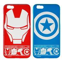 漫威英雄Marvel 周邊商品推薦【MARVEL】iPhone 6 plus 復仇者聯盟 免鎖螺絲推拉鋁合金金屬邊框背蓋保護殼-主題