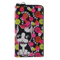 凱蒂貓週邊商品推薦到Rebecca Bonbon 5.3吋通用繽紛系列皮革手機L包-甜點泡泡