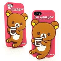 懶懶熊手機殼及配件推薦到Rilakkuma 拉拉熊/懶懶熊iPhone SE/i5/i5s 可愛立體造型喝咖啡保護套就在Miravivi推薦懶懶熊手機殼及配件