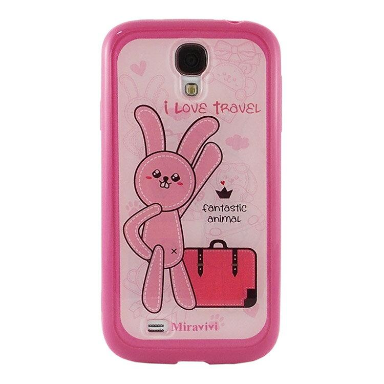 Miravivi Samsung Galaxy S4 動物狂想曲系列 保護雙料殼~LaLa