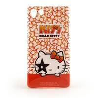 凱蒂貓週邊商品推薦到【KISS HELLO KITTY 】SONY XPERIA Z1 繽紛彩繪保護套-可愛蝴蝶結