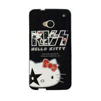 凱蒂貓週邊商品推薦到【KISS HELLO KITTY 】NEW HTC ONE 時尚彩繪保護套-經典KISS