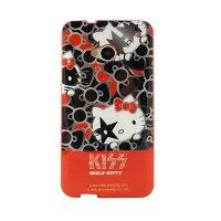凱蒂貓週邊商品推薦到【KISS HELLO KITTY 】NEW HTC ONE 時尚彩繪保護套-華麗蝴蝶結