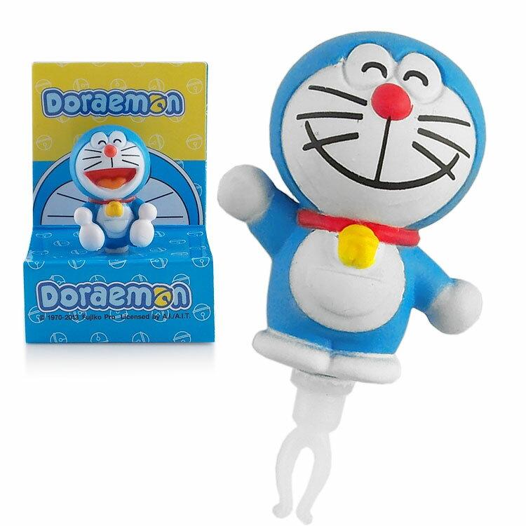 Doraemon 哆啦A夢 3D公仔系列耳機防塵塞 -微笑哈囉