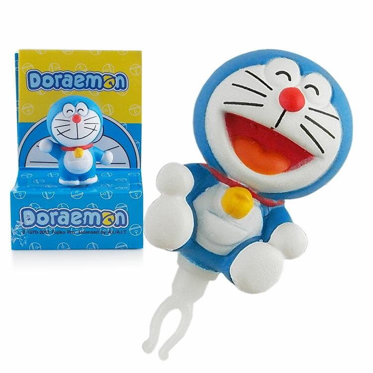 Doraemon 哆啦A夢 3D公仔系列耳機防塵塞 -歡樂坐姿