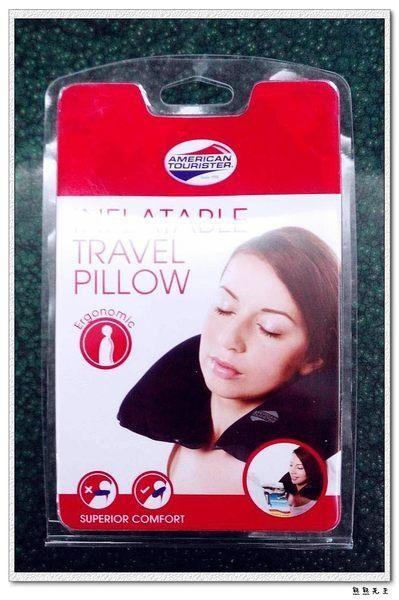 ~熊熊先生~Samsonite美國旅行者American Tourister 充氣枕,舒服