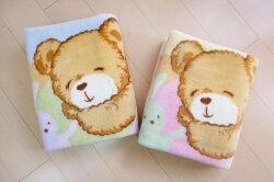 GMP Baby 東京西川大睡熊童毯藍 (A-552B/C) (二色可挑)1480元(附紙袋)