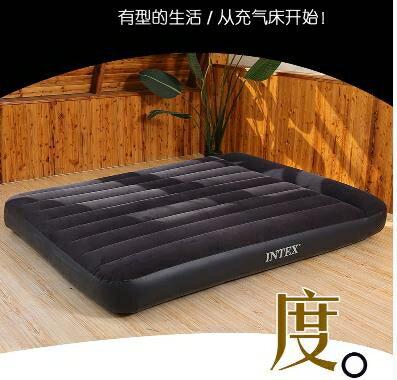 【快速出貨】充氣床 INTEX氣墊床 充氣床墊雙人家用加大單人折疊床墊充氣墊簡易便攜床 交換禮物 雙12購物節