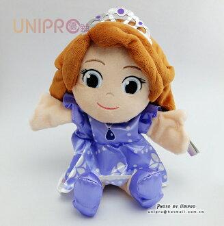 【UNIPRO】迪士尼 蘇菲亞公主 Sofia the First Q版 手指娃娃 手玩偶 手偶 演戲 扮家家酒
