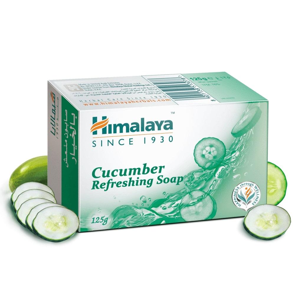 印度清爽黃瓜椰子香皂  Cucumber & Coconut Soap HIMALAYA 125gm