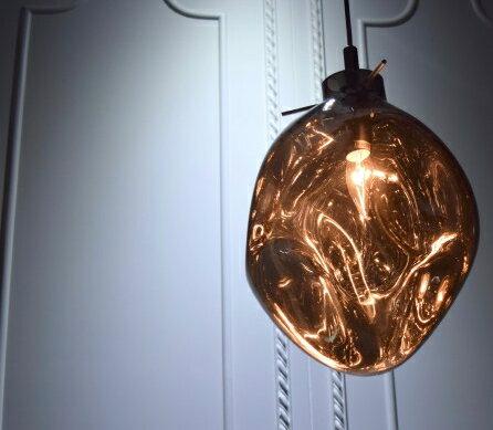 手工吹製電鍍銀玻璃吊燈-BNL00115 3