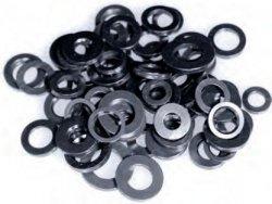 Black Washers - 3/8 ID x 1.200 OD w/Chamfer 10pk ca1e9180e88d2e476a68c4923b9ee306