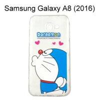 小叮噹週邊商品推薦哆啦A夢空壓氣墊軟殼 [嘟嘴] Samsung Galaxy A8 (2016) 小叮噹【正版授權】