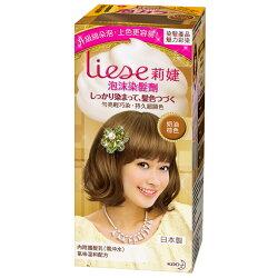 Liese 莉婕 泡沫染髮劑 魅力彩染系列 奶油棕色