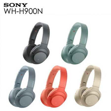 <br/><br/>  ★107/2/25前贈SONY帆布包 SONY WH-H900N 無線降噪耳罩式耳機 無線藍牙降噪耳機且支援環境音功能<br/><br/>