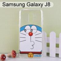 小叮噹週邊商品推薦哆啦A夢空壓氣墊軟殼 [斜眼] Samsung Galaxy J8 (6吋) 小叮噹【正版授權】
