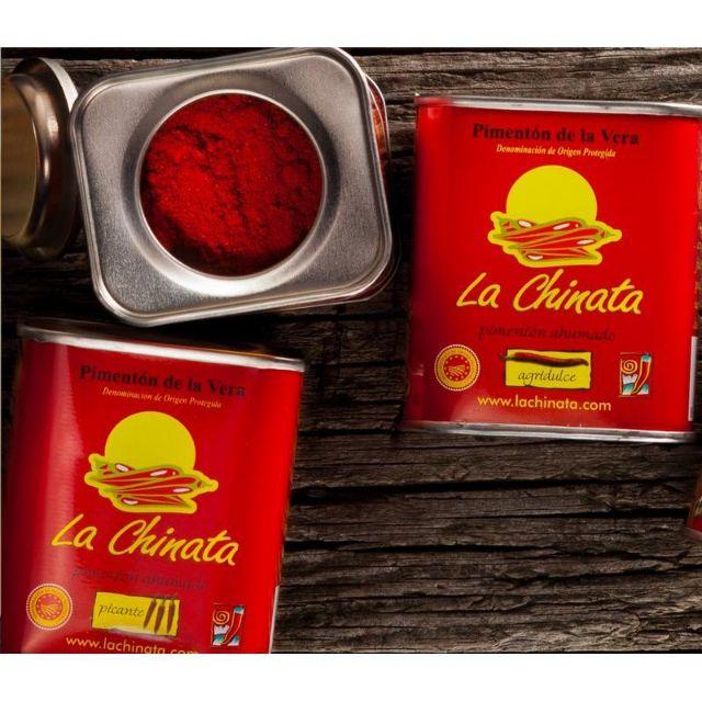 老實嚴選 品味生活 現貨特價!西班牙紅椒粉 LA Chinata 70g/ 350g#煙燻#燉飯