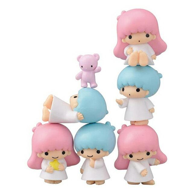 【日本進口】雙子星 KIKILALA 疊疊樂 擺飾 公仔 ENSKY NOS-40 玩具 - 188597