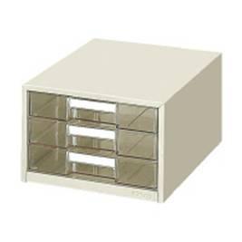 KOKUYO 桌上型A4資料3層不鏽鋼收納櫃KOLC-G3M(日本製)