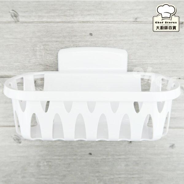 3M無痕浴室中型置物籃廁所置物架免鑽牆不殘膠-大廚師百貨