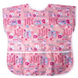 【任二入95折】Baby City娃娃城 - 防水短袖畫畫衣(3-5A) 粉色兔子