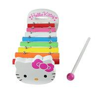 凱蒂貓週邊商品推薦到KT木製小鐵琴/ Hello Kitty Xylopone / 凱蒂貓/ 樂器/ 學習/ 教育/伯寶行