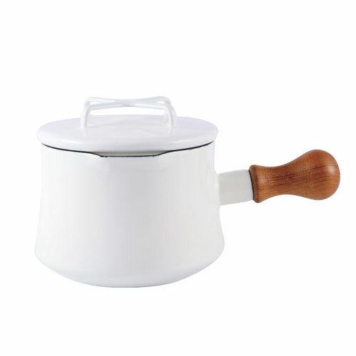 日本 DANSK 琺瑯牛奶鍋 1000ml 白色