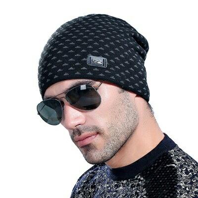 ~針織毛帽男帽子~ 戶外 男 7色73if21~ ~~米蘭 ~