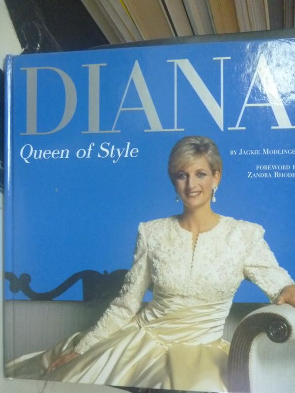 ~書寶 書T2/傳記_YFB~Diana Queen of Style_Jackie Mo