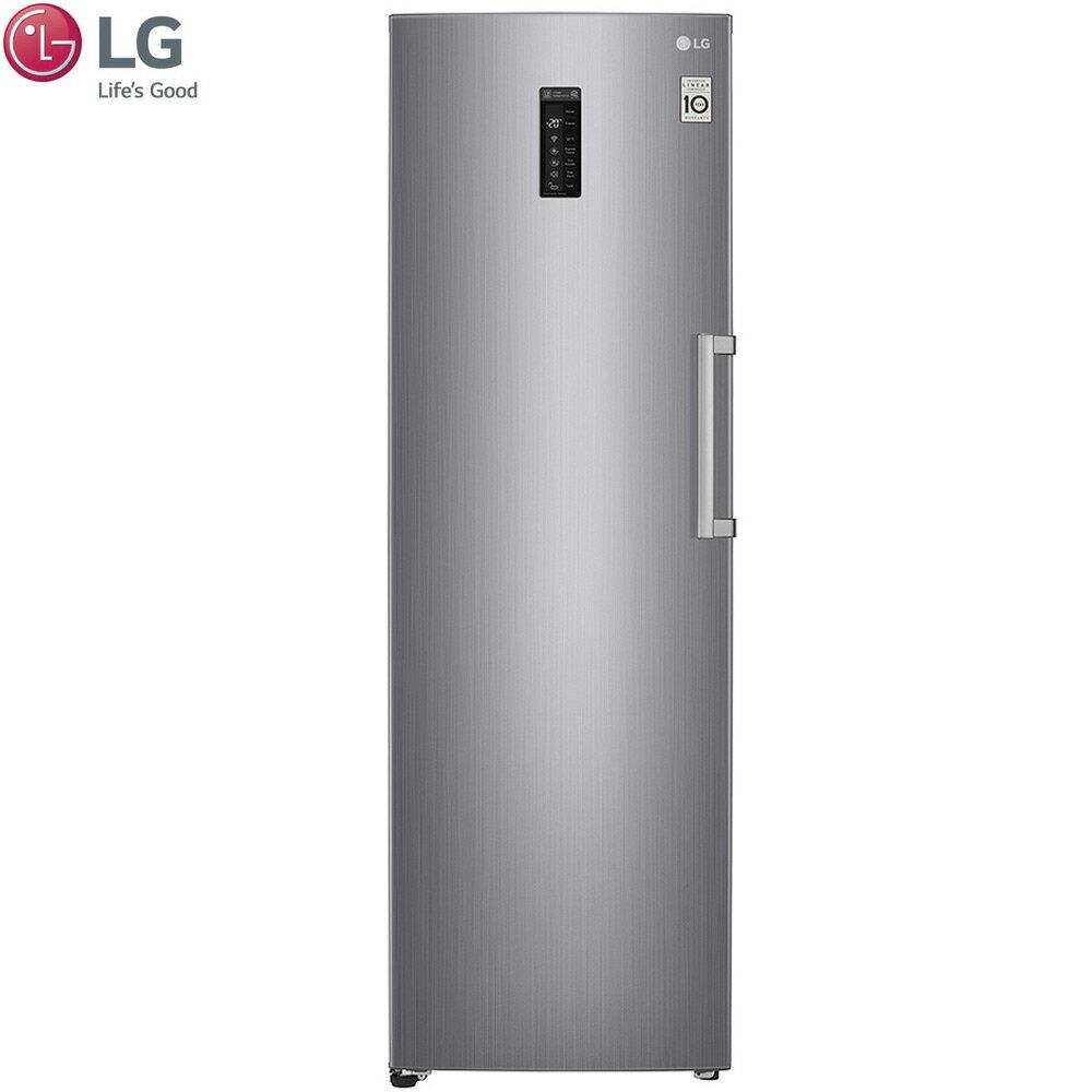 【送14吋DC扇】LG 樂金 GR-FL40SV 單門冷凍冰箱 313公升 WiFi直驅變頻 精緻銀 0