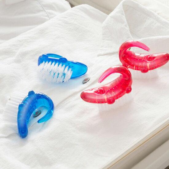 ♚MY COLOR♚水晶鱷魚清潔刷 出差 旅行 居家 洗衣 洗鞋 便攜 多功能 去汙 搓衣 清洗【G69】