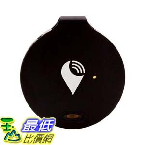 第2代新款可更換電池 [106美國直購] TrackR bravo 定位器 Key Tracker, Phone Finder, Wallet Locator, Generation 2, Black