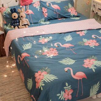 湯姆的紅鶴園 床包/被套/兩用被/枕套 單品賣場 精梳純棉 台灣製造