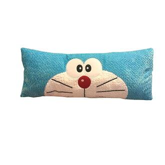 【真愛日本】17042400002 長密絲絨電繡長枕-叮噹 Doraemon 哆啦A夢 小叮噹 抱枕 靠枕 枕頭 娃娃