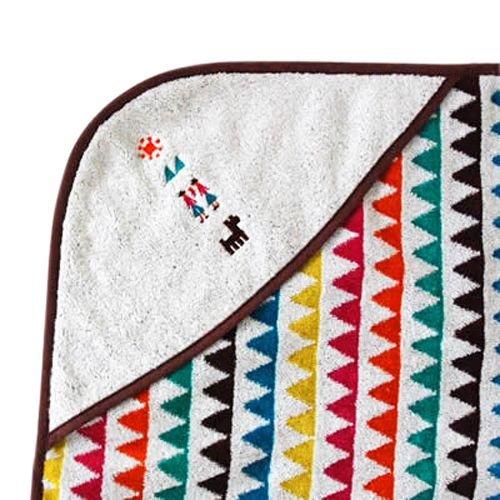 Hoppetta - BOBO - 幾何圖騰洗澡浴巾圍裙 1