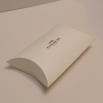 COACH零錢小手拿包紙盒