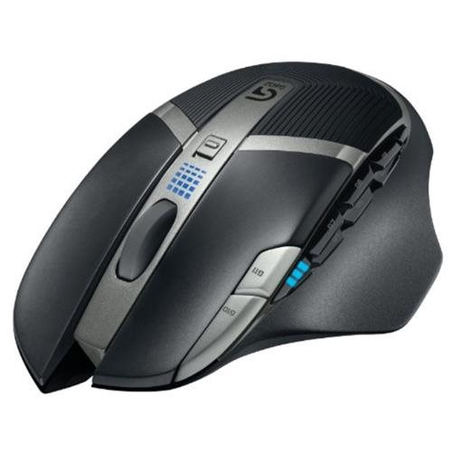 Logitech G602 Wireless Gaming Mouse - Optical - Wireless - Radio Frequency - Black - USB 2.0 - 2500 dpi - Scroll Wheel - 11 Button(s) - Right-handed Only 2