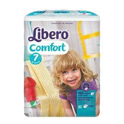 【Libero麗貝樂】黏貼式嬰兒紙尿褲(XXXL/7號)(21P/包)