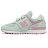 Shoestw【YV574KCS】NEW BALANCE NB574 運動鞋 黏帶 中童鞋 Wide 淺綠粉 小花 1