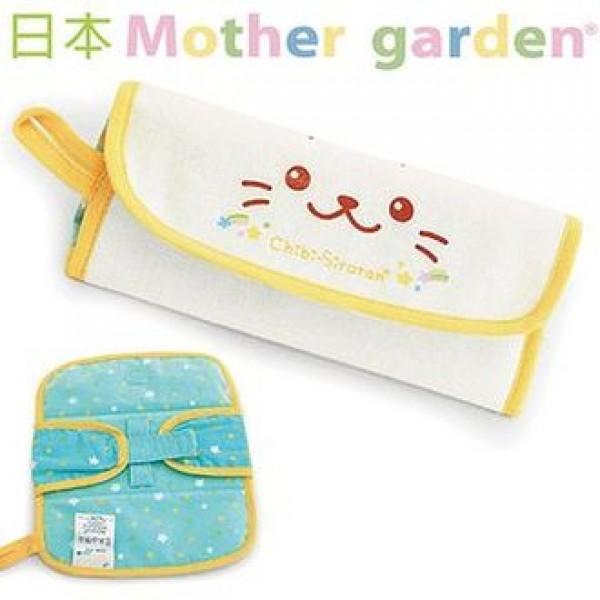 日本 MOTHER GARDEN 海狗餐具收納布袋/餐具袋(不含刀叉)