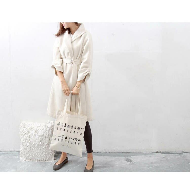 手提包 帆布袋 手提袋 環保購物袋【DEA001425】 BOBI  08/18 2