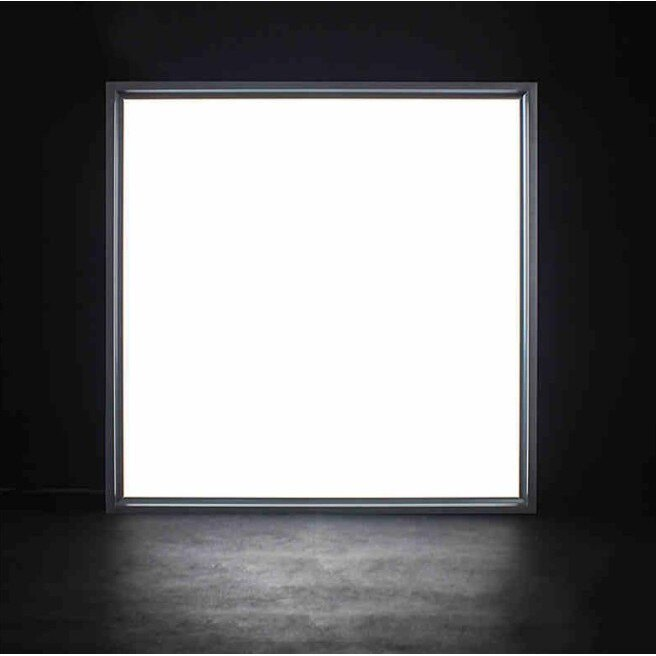 輕鋼架LED平板燈 專用型隱藏式高亮48W側光超薄款 取代傳統T5燈管燈座