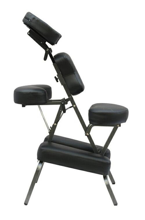 mcombo portable massage chair tattoo spa chair w 4 foam carry case aluminum cradle black